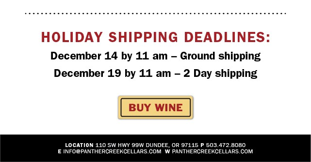 Holiday Shipping Deadlines: Ground - 12/14, 2 Day - 12/19 by 11 am
