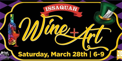 Issaquah Wine and Art Poster