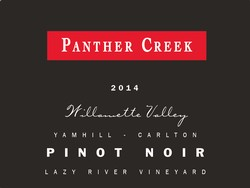 Panther Creek 2014 Lazy River Vineyard Pinot Noir