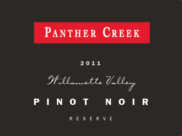 2011 Panther Creek Cellars Reserve Pinot Noir