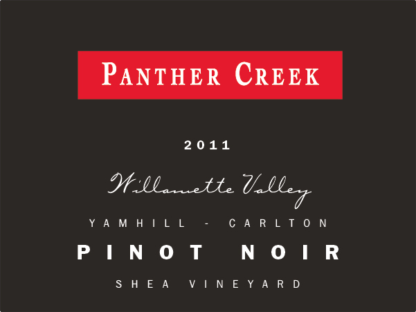 2011 Panther Creek Cellars Shea Vineyard Pinot Noir