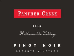 2013 Panther Creek De Ponte Pinot Noir