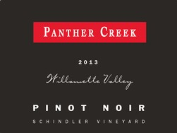 2013 Panther Creek Schindler Vineyard Pinot Noir