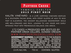 2013 Panther Creek Cellars Kalita Pinot Noir