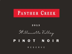2013 Panther Creek Reserve Pinot Noir