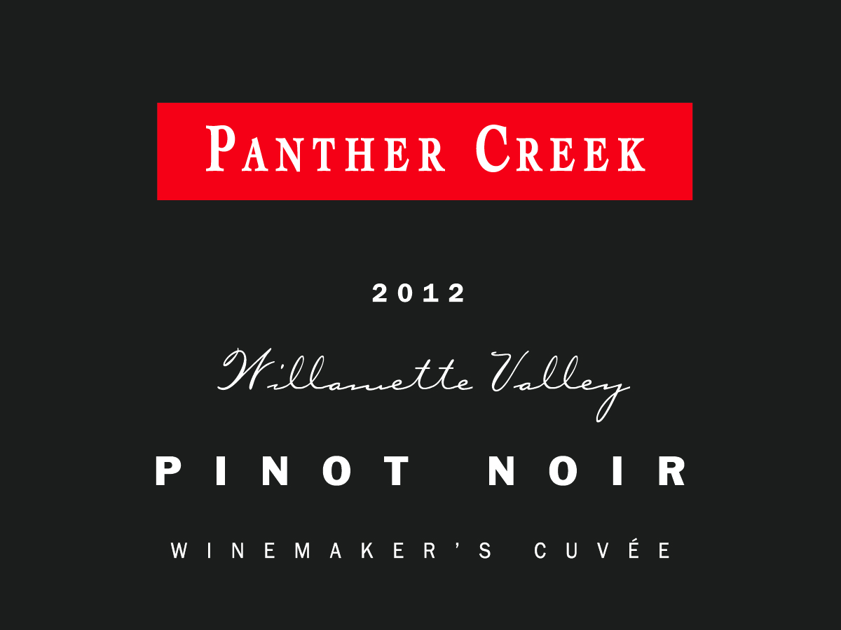 2012 Panther Creek Winermaker's Cuvee