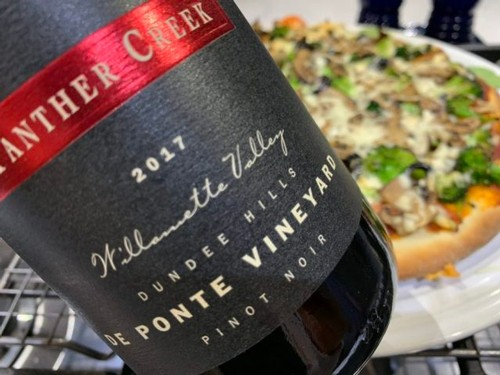 2017 De Ponte Vineyard Panther Creek Cellars Pinot Noir