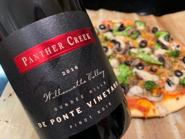 Wine Pairing Tips by Panther Creek Cellars, 2016 De Ponte Vineyard Pinot Noir